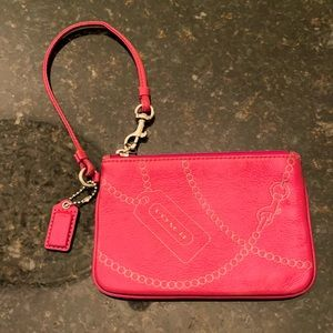 Coach Wristlet ButterSoft Leather Pearl Strand